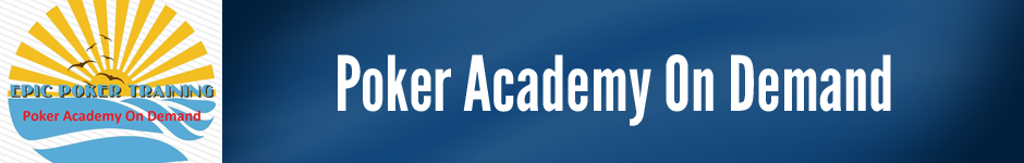 Poker Academy On Demand